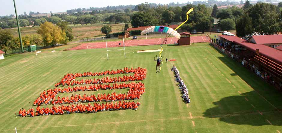 Choreographed SkyDiving Displays